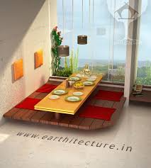 floor seating dining table. A Requirement Floor Seating Dining Table H