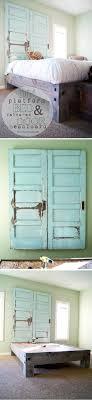 Headboards Diy 25 Best Door Headboards Ideas On Pinterest Salvaged Doors