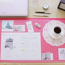 pink office desk. Amazon.com : Vintage Designed Desk Mat Ver. 02 - Hot Pink Office Products