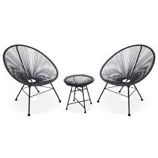 egg designs furniture. Acapulco - 2 PVC Egg Designer Garden Chairs With Side Table Grey Alice\u0027s Designs Furniture O