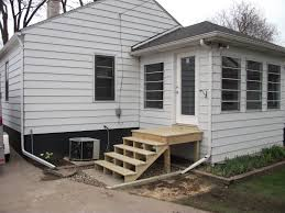 Back Door Steps With Landing Scoakat S Blog Projects To Try