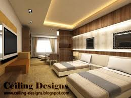 simple false ceiling designs for bedrooms with side lights