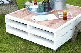 diy outdoor coffee table pallet coffee table gets an outdoor makeover easy diy outdoor coffee table diy outdoor coffee table