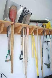 yard tool storage ideas
