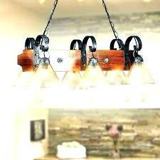 barn wood chandelier reclaimed rustic pottery vintage
