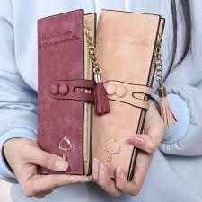 <b>2017 New</b> Fashion <b>Women</b> Synthetic Leather Card Holder Long ...