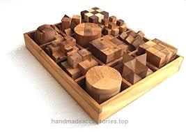 Wooden Games For Adults Handmade Puzzle Sets Twelve Brain Teasers with the Puzzle 91