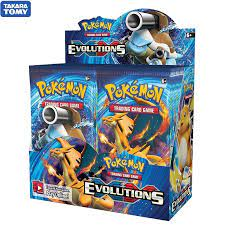 324 Cards Pokemon TCG: XY Evolutions Sealed Booster Box Trading Card Game  Toys|Game Collection Cards