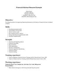 Bistrun Finance Resume Keywords Elegant Financialr Resume Resumes