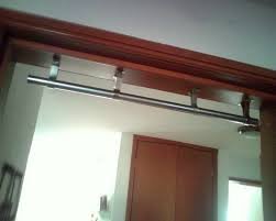 image of wall mounted pull up bar stainless