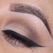 simple neutral eye makeup look