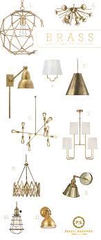 brass lighting fixtures. @psstudio Top Picks For Brass Lighting, Sconces, Gold Hardware, Chandelier Lighting Fixtures