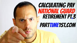 Army Reserve Retirement Points Chart Calculating Retirement Pay In The National Guard Retirement Pt 3