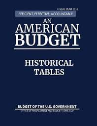 fiscal year 2019 dates historical tables budget of the united states fiscal year 2019