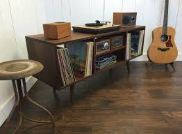 record player console. Contemporary Player Solid Walnut Record Player Console With Album Storage With Record Player Console C