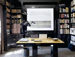 home office artwork. Masculine Office Stylish And Dramatic Home Design Ideas  Artwork
