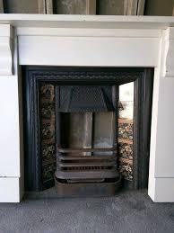 original victorian cast iron fireplace surround with beautiful fl art nouveau