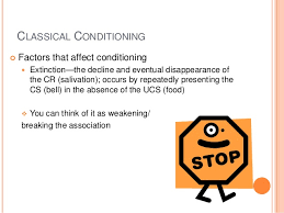 classical conditioning generalization discrimination extinction a classical conditioningiuml130cent