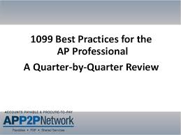 1099 Invoice Gorgeous 48 Best Practices For The AP Professional