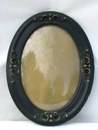 antique wood picture frames. Vintage Wood Picture Frames Oval Convex Bubble Curved Glass In Antique  W Ornate .