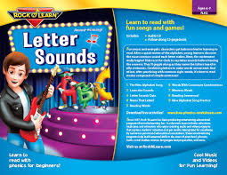 syllables, rule breakers, and silent consonants sketches]. Letter Sounds Rock N Learn
