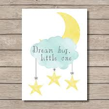 nursery printable dream big little one wall art digital file instant download  on dream big little one wall art with 144 best baby room images on pinterest nursery ideas nursery