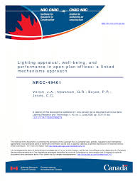 American National Standard Practice For Office Lighting Pdf Pdf Lighting Appraisal Well Being And Performance In Open