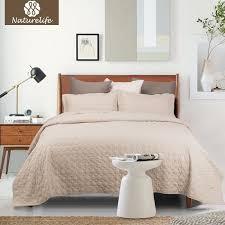 naturelife camel quilt set circle bedspread bed cover quilted bedding set duvet cover pillowcase quilts warm coverlet sets bedding set quilt set quilts