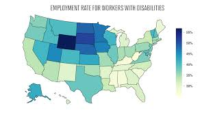 Nj Workers Compensation Rate Chart 2018 Employment For Americans With Disabilities State By State