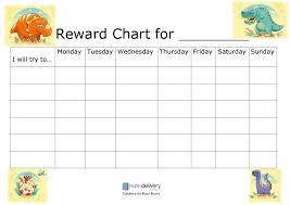 Editable Reward Chart 40 Printable Reward Charts For Kids Pdf Excel Word