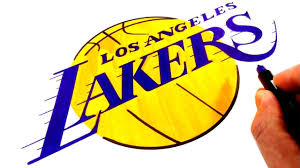 How to draw los angeles lakers logo. How To Draw The Los Angeles Lakers Logo Youtube