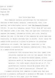 the persuasive essay sample mla format