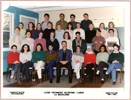 Photo de classe 2° 2° TS AB de 1993, Lycée Valentine Labbe ... - 3224294