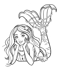 Select from 35496 printable coloring pages of cartoons, animals, nature, bible and many more. Barbie Mermaid Coloring Page Barbie Coloring Barbie Coloring Pages Princess Coloring Pages
