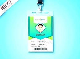 company id card templates sample of id card template automotoread info