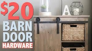 20 diy barn door hardware