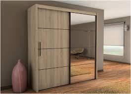carlos sliding door wardrobe 201cm in oak