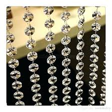 beautiful crystal strands for chandeliers for feet crystal clear acrylic beads chain acrylic crystal garland hanging