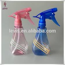 Decorative Spray Bottle Pet Plastic New Design Decorative Cleaning Spray Bottle With 26