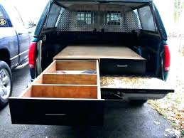 truck bed vault build your own truck bed slide out box best ideas about drawers on truck bed