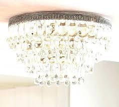 crystal flush mount chandelier crystal flush mount chandelier chrome 4 light crystal flush mount chandelier modern