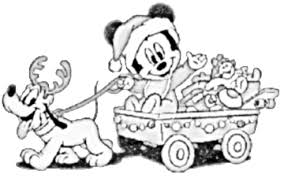Christmas, the preferred time for children, but also parents, who love to spoil their children ! Disney Christmas Coloring Pages