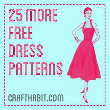 Dress Patterns Free Interesting 48 More Free Dress Patterns CraftHabit Free Women's Dress