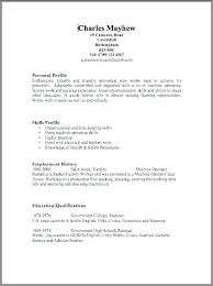 Resume Navigation Classy Layout For Resume Professional Resume Layout Resume Template For