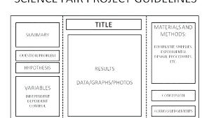 Science Fair Project Labels Printable Science Project Display Board Asapcars Co