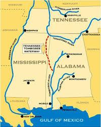 Tennessee Tombigbee Waterway Encyclopedia Of Alabama