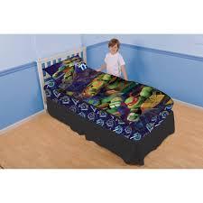Ninja Turtle Bedroom Furniture Teenage Mutant Ninja Turtles Prime Time Turtles Zip It Bedding