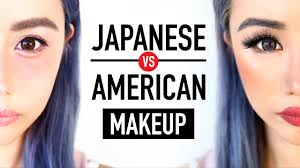 anese makeup vs american makeup before after transformation kawaii or y wengie you