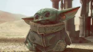 Baby Yoda Art Mandalorian 1080P Laptop ...