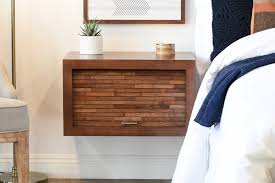 Floating Wall Mount Nightstand - ECO GEO - Mocha - OB 50% OFF!